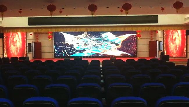 郑州某物流中心会议室